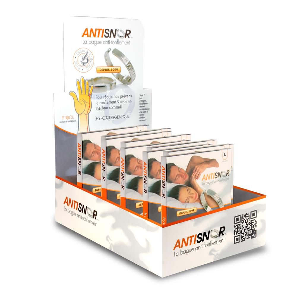 presentoir design antisnor